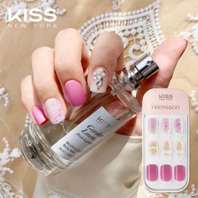 KISS New York-Press&Go頂級光療指甲貼片(冰透葡萄紫 KPNA29KA)