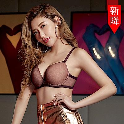 瑪登瑪朵 身呼吸內衣  B-F罩杯(莓酒紫)