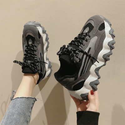 韓國KW美鞋館-漫步夏日運動老爹鞋(老爺鞋 運動鞋 休閒鞋)(共2色)