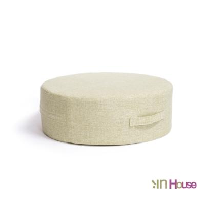 IN HOUSE-日式無壓力坐墊(圓形/綠色)