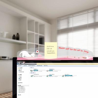 OSHI歐士 夾心留言備忘版-造型系列2入 螢幕 便利貼 留言板 備忘版 MEMO夾
