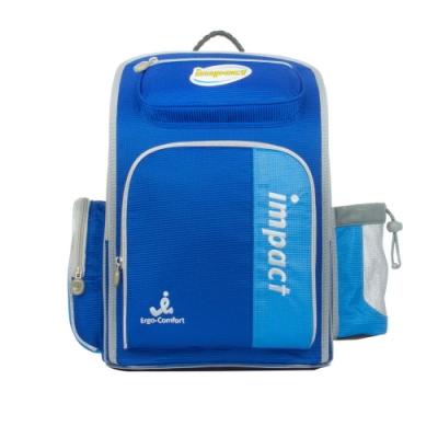 【IMPACT】怡寶標準型護脊書包-模範生系列-藍 IM0037ARB
