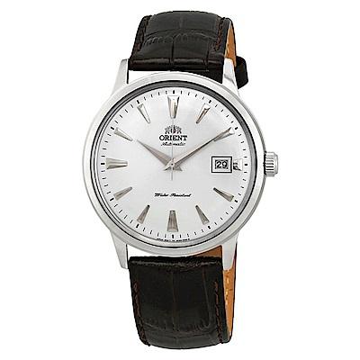 ORIENT  DATEII紳士英爵自動機械錶(FAC00005W0)-白面x40.5mm