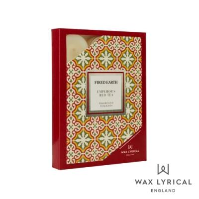 英國 Wax Lyrical 大地系列香氛蠟燭-玫瑰紅茶 Emperors Red Tea 12入茶燭