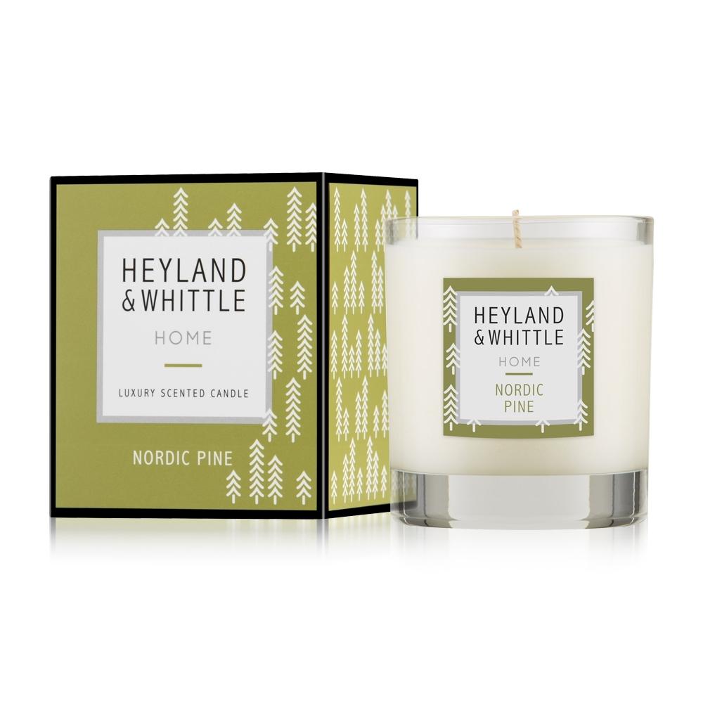 H&W 英倫薇朵 HOME系列香氛燭230g 買1送1