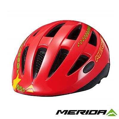 《MERIDA》美利達 Matts JR 青少年安全帽 紅/綠 48-54CM