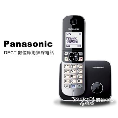 Panasonic 國際牌 DECT 數位節能無線電話 KX-TG6811 經典黑