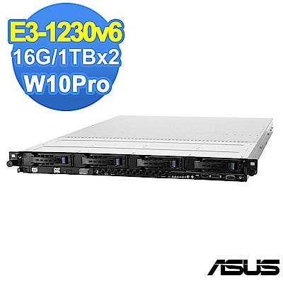 ASUS RS300-E9 E3-1230v6/16G/1TBx2/W10P