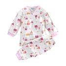 嬰幼兒台灣製純棉中厚長袖套裝 a70280 魔法Baby