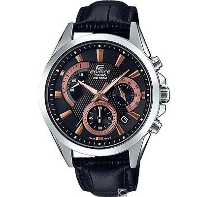 CASIO EDIFICE 扇形逆跳計時腕錶(EFV-580L-1A)