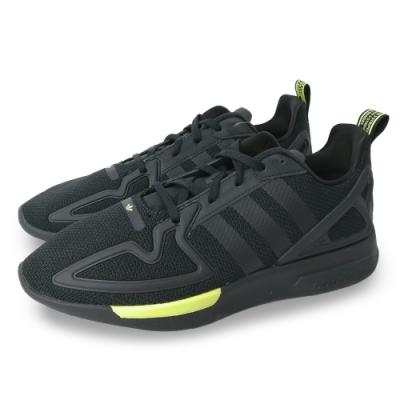 adidas 休閒鞋 慢跑 運動 男鞋 黑 FV8486 ZX 2K FLUX