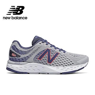 【New Balance】輕量跑鞋_女性_淺紫_W680AM6-D楦