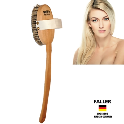 FALLER芙樂德國製馬毛放鬆筋膜按摩刷  (一入)