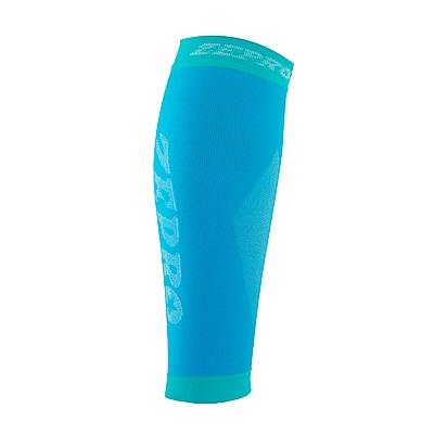 【ZEPRO】男女機能壓縮運動小腿套-水藍
