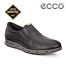 ECCO COOL MENS 360度環繞防水休閒懶人鞋 男-黑