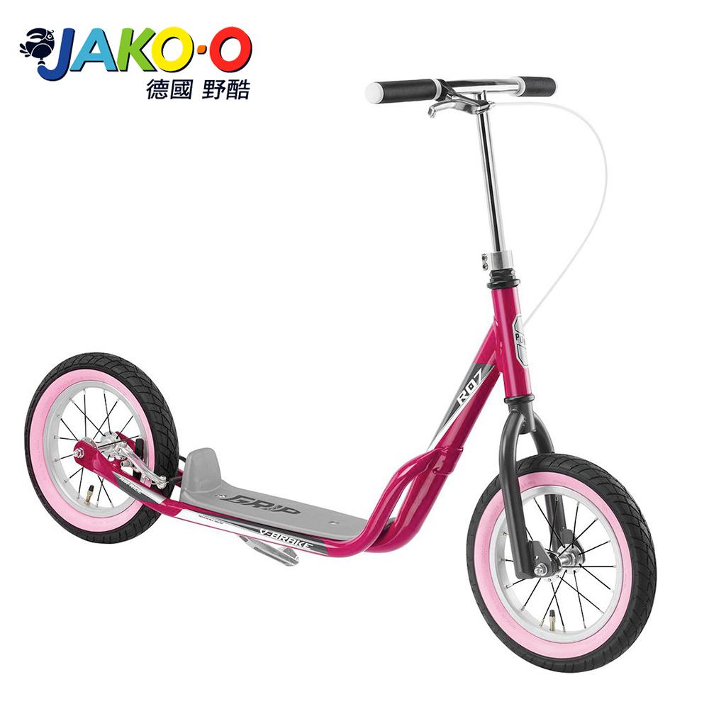 JAKO-O 德國野酷-PUKY R07L平板式滑板車-桃紅