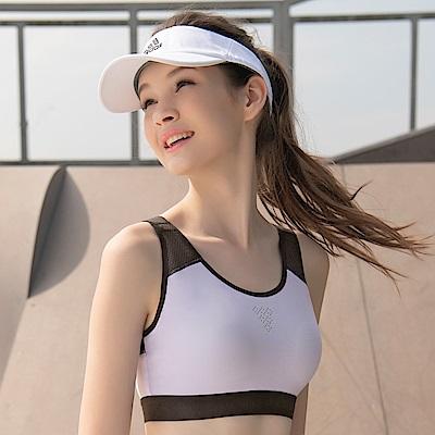 華歌爾-專業時尚 BM-BLL 運動內衣(紫)A-B 罩杯無鋼圈背心式