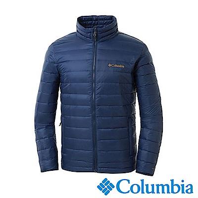 Columbia哥倫比亞 男款-Omni-HEAT保暖羽絨外套-深藍UWE00230