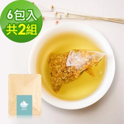 KOOS-韃靼黃金蕎麥茶-隨享包2組(6包入)