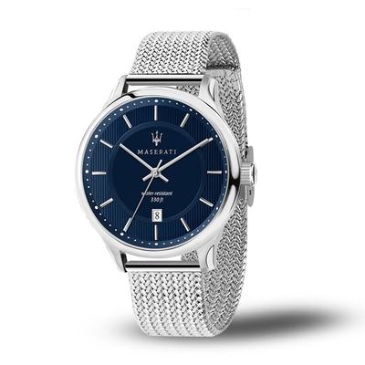 【MASERATI TIME】瑪莎拉蒂 GENTLEMAN 紳士風格三針腕錶 R8853136002