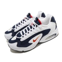 Nike 休閒鞋 Air Max Triax 運動 男鞋 復古 舒適 球鞋 穿搭 USA 氣墊 白 藍 CT1763400