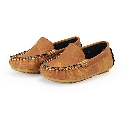 BuyGlasses 百搭小人豆豆鞋-棕