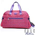 ELLE Active 旅人系列-旅行袋-桃紅色