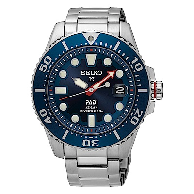 SEIKO PROSPEX勇猛潛將太陽能潛水腕錶/43.5mm/ V157-0BT0B(S