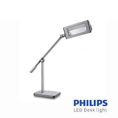 【飛利浦 PHILIPS LIGHTING】晶尚 LED檯燈 Stork (71568)