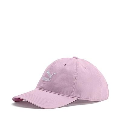 PUMA-男女基本系列棒球帽-活力粉紫