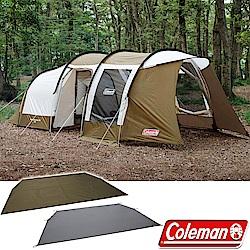 Coleman CM-33801 綠橄欖版 隧道式2 Room LDX 套裝組