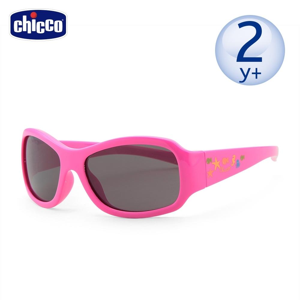 chicco-兒童專用太陽眼鏡-海底世界粉-24m+