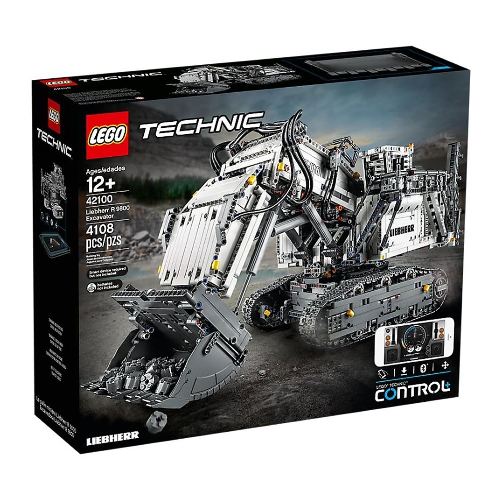 樂高LEGO 科技系列 - LT42100 Liebherr R 9800 挖掘機