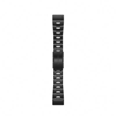 GARMIN QUICKFIT 26mm 石墨灰DLC鈦金錶帶
