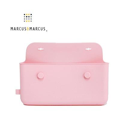【MARCUS&MARCUS】輕巧矽膠餐具收納袋-玫瑰粉