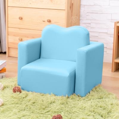 AS-藍色兒童桌椅組-47x41.5x41cm