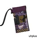 uhplus 手機袋- 貓の和物語(紫)