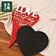 【週年慶倒數↗全館限時8折起-生活工場】Heart RED黑板留言吊飾 product thumbnail 1