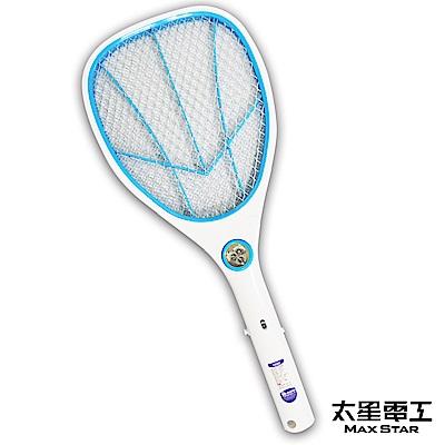 太星電工 打耳蚊鋰電池USB充電式捕蚊拍(8號) DW801