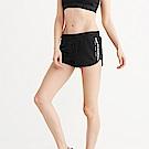 麋鹿 AF A&F 經典標誌運動休閒短棉褲(女)-黑色