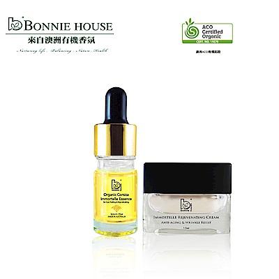 Bonnie House 科西加島黃金蠟菊原精5ml+黃金蠟菊滋養霜15ml