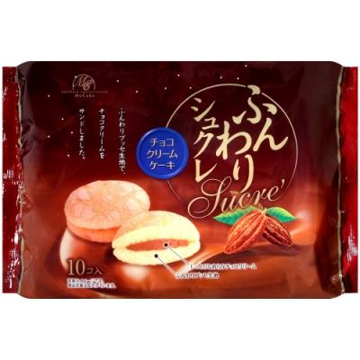 柿原 鬆軟巧克力奶油風味夾心蛋糕(140g)