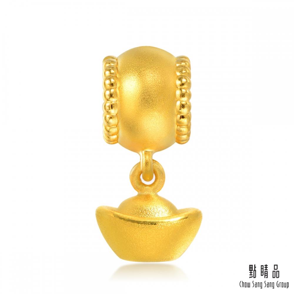 點睛品 Charme 文化祝福 招財元寶 黃金串珠
