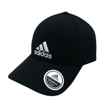 ADIDAS 6P CAP COTTON 中 黑 休閒帽