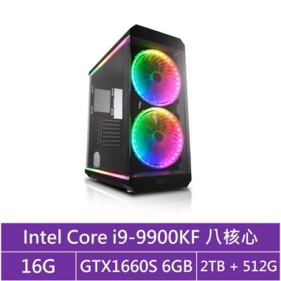華碩Z390平台[戰略武僧]i9八核GTX1660S獨顯電玩機