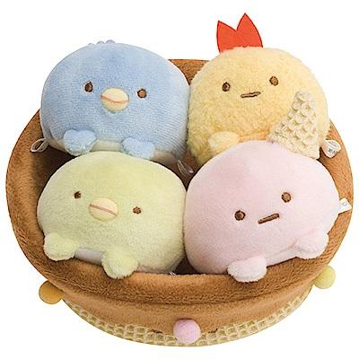 角落公仔企鵝冰淇淋系列甜筒造型置物盒 San-X