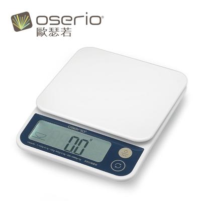 (領券再折 下單送體重計)oserio歐瑟若 醣管家卡路里廚房食品秤 KCP-607
