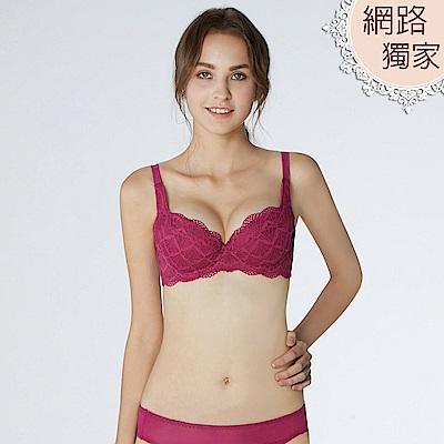 曼黛瑪璉 包覆提托經典內衣 C-E罩杯(莓紫)
