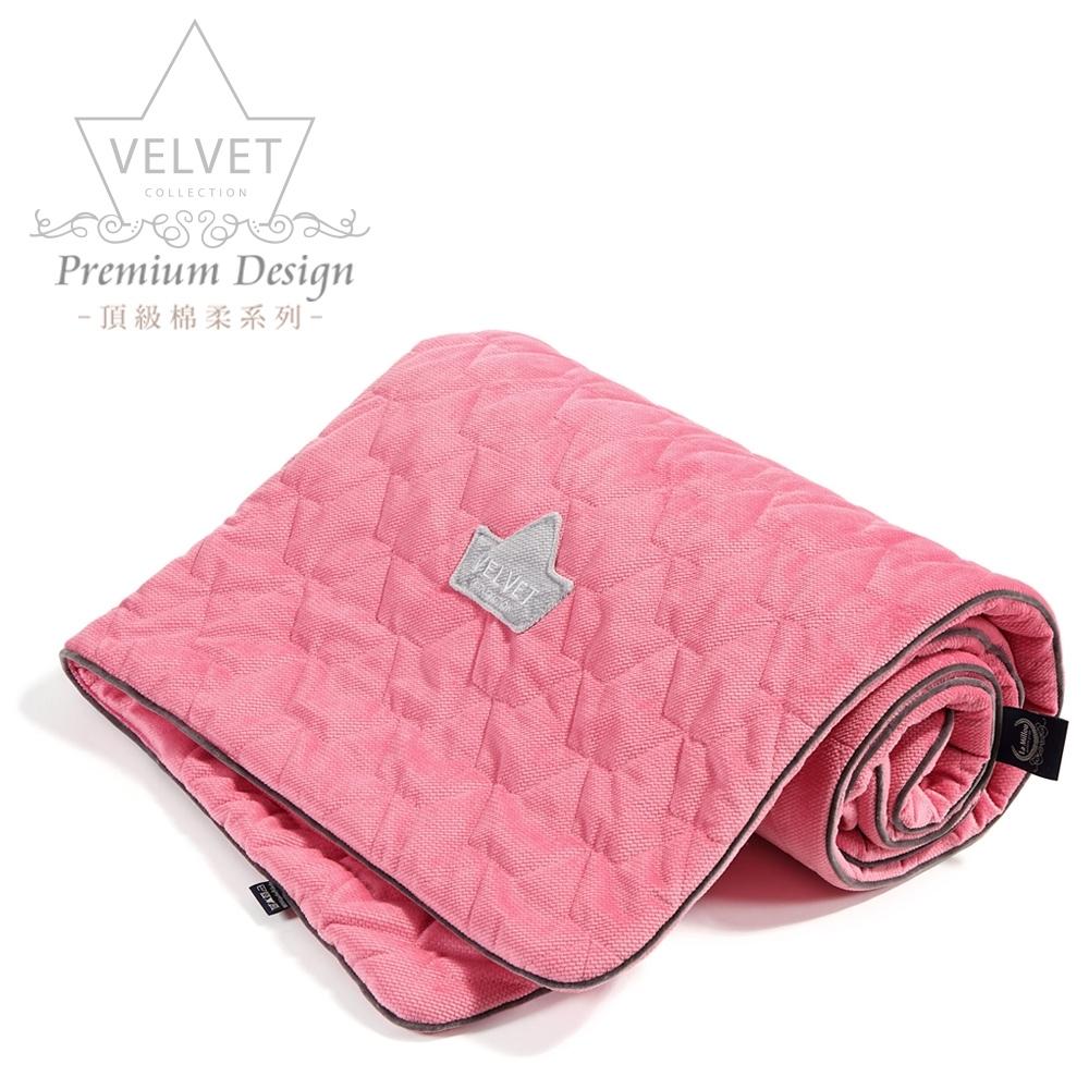 La Millou Velvet頂級棉柔系列-標準款暖膚毯80x100cm(舒柔亮桃)