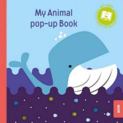 Pop-Up Book:My Animals 我的動物立體書